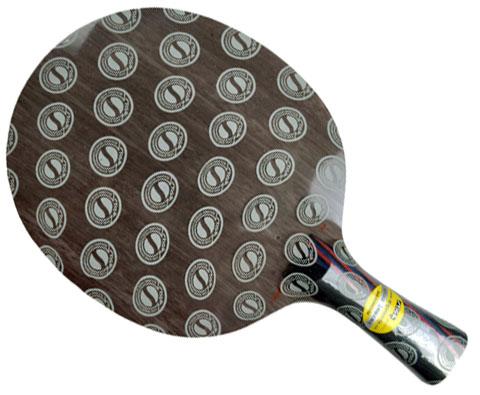 STIGA斯帝卡 红黑碳王5.4WRB 乒乓底板(Carbo 5.4 WRB)快攻弧圈,底板中的圆月弯刀