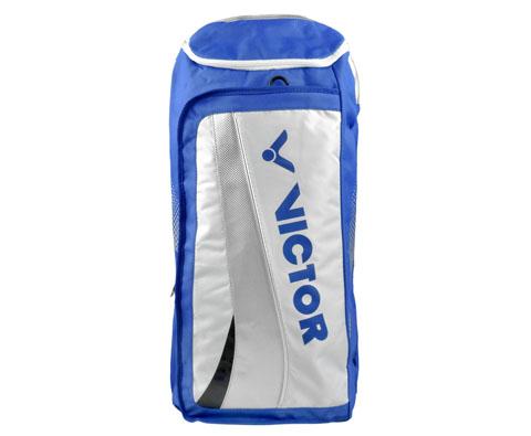 VICTOR胜利BR7801F羽毛球双肩包(新颖长形背包,实用才是王道!蓝色)