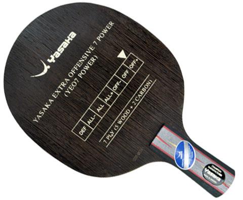 YASAKA亚萨卡 YEO7 POWER 乒乓底板 YEO7升级版