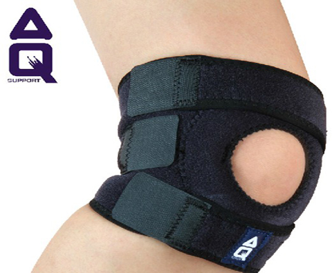 AQ护具 可调式髌骨稳定护膝W50501,超轻透气,特殊材料