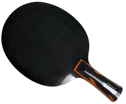 DONIC多尼克黑色力量-直拍22810 瓦尔德内尔曾用5层纯木快攻弧圈型纯木底板
