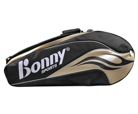 BONNY波力1TB14001幻影系列六支装羽毛球包(高端大气土豪金配色)