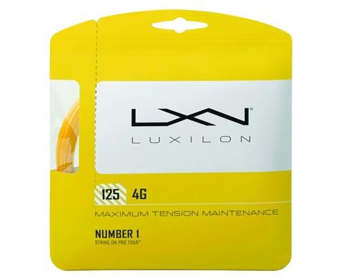 力士浪Luxilon网球线 4G  ROUGH 125 WRZ9971聚酯线,号称黄金线