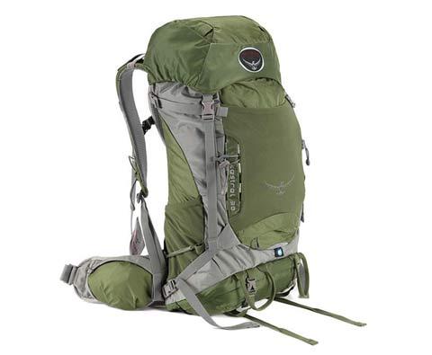 Osprey Kestrel 小鹰38L绿色专业户外包M/L 登山包 徒步包
