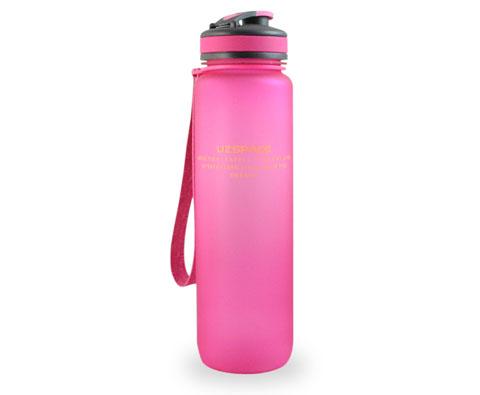 优之UZSPACE环保1000ML粉色运动水壶,全英赛谌龙使用!