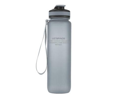 优之UZSPACE环保1000ML灰色运动水壶,全英赛谌龙使用!