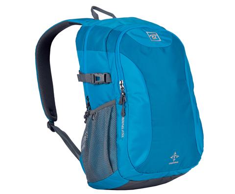 探路者Toread TEBB80045 中性25L双肩背包 孔雀蓝 户外级品质的休闲背包