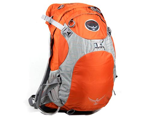 Osprey Stratos 34 橘色云层34L户外背包 M号 Osprey非常适合骑行的背包