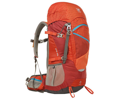 探路者Toread TEBB80013 45L双肩背包 橘红色