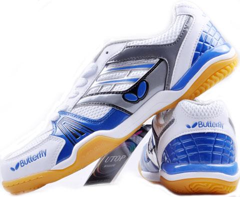 蝴蝶Butterfly UTOP-1 蓝色乒乓球鞋(灵动乒鞋,超透气)