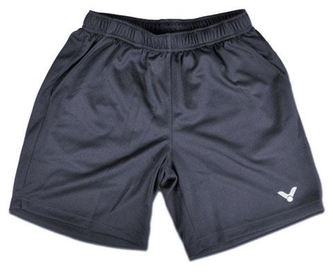 VICTOR胜利R-3096K中性款羽毛球短裤(灰色,团购推荐款,经典好短裤)