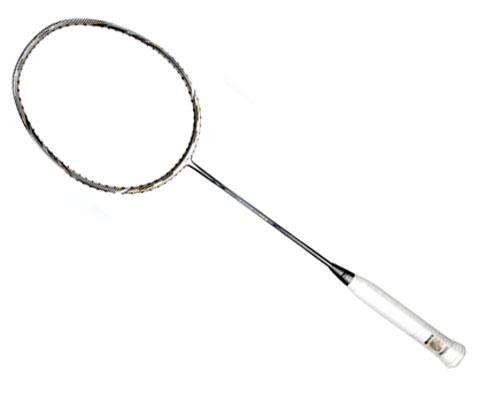 李宁N55三代银色(N55 3代)羽毛球拍风动科技张楠曾用国家队赞助款(紫微帝星降临,人间兵器登场!)