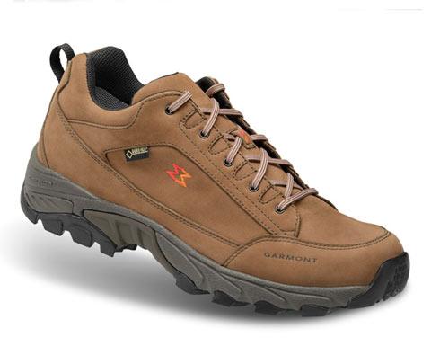 GARMONT 男女款GTX防水透湿徒步鞋/登山鞋(凌波微步)栗棕色