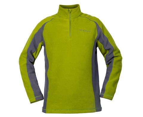 探路者男款超轻保暖抓绒衣 TACB91243 芥绿色