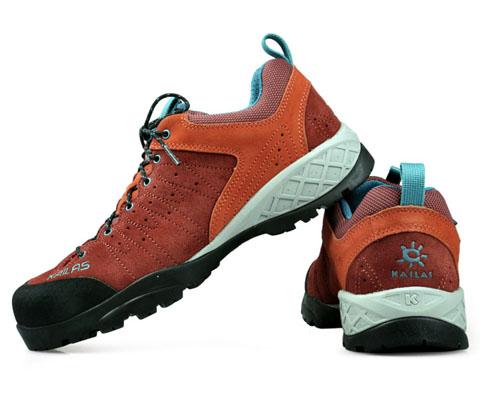 凯乐石Kailas 男款低帮徒步攀爬鞋 KS810343 红色 Approach