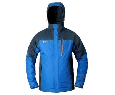 探路者男士三合一冲锋衣 TAWB91201 宝蓝色