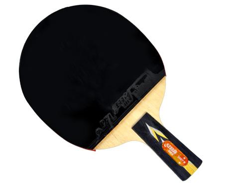 红双喜三星3007乒乓球成品拍
