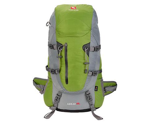硬骨HARD BONE 爱德加38L专业登山包 HB09105 绿色(自带防雨罩)