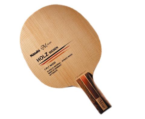 尼塔库 Nittaku 7层纯木 大师H7 乒乓底板—纯粹手感的一代宗师!