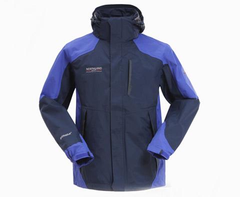 诺诗兰男士冲锋衣(雅普腊)GS125008 宝蓝色(防风、防水、透气)