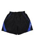 蝴蝶Butterfly BWS-321-0203蓝黑款专业乒乓短裤 加长款 男女款通用 透气舒适 简洁大方