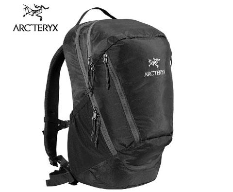 始祖鸟Arcteryx Mantis 26L徒步休闲日常背包7715 黑色 轻量化日用包之选