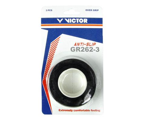 VICTOR胜利GR262-3外握把胶(粘性手胶,出色的抓握手感,三条装手柄吸汗带)