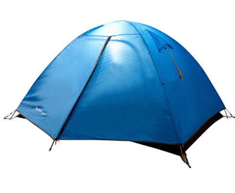 牧高笛T2双人双层三季铝杆帐篷 蓝色(航空铝支架,更轻更稳固)