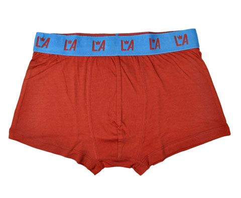 LA男款美丽诺羊毛专业运动内裤ML84011红麻灰(纯羊毛打造,让你从里到外都专业)
