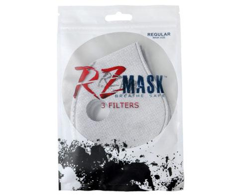 美国RZ mask运动口罩活性炭滤芯专用滤片3片装