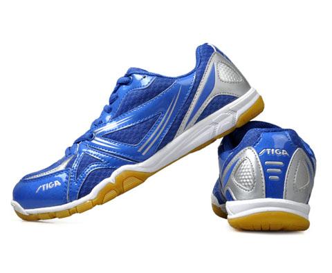 斯帝卡Stiga G1408033蓝色乒乓球鞋(球馆中的亮骚蓝)