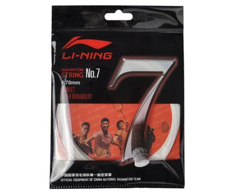 """李宁NO7羽毛球线(绝佳耐打,只为一""""线""""!0.70mm线径性能直逼BG65)"""