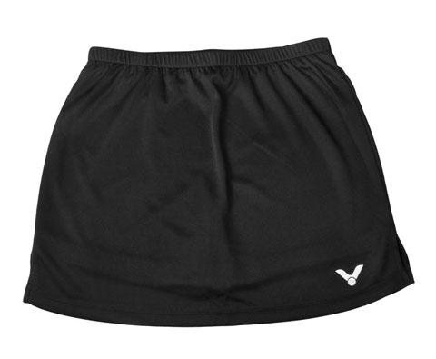 VICTOR胜利K-3199C黑色羽毛球裤裙(经典百搭,绝佳战裙)
