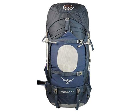 OSPREY Aether(苍穹)70登山徒步背包 蓝色 轻量级全能背包