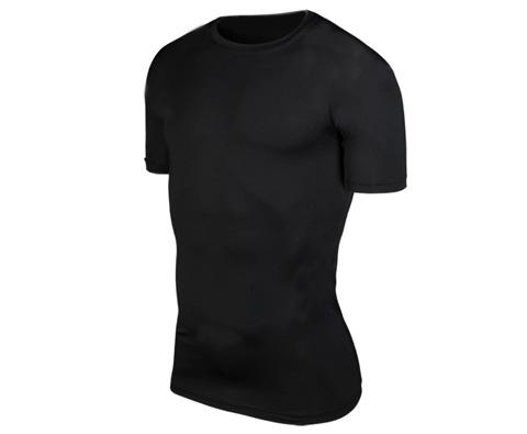SKINSHIP黑色运动功能衣2代(单向导湿,速干体验)