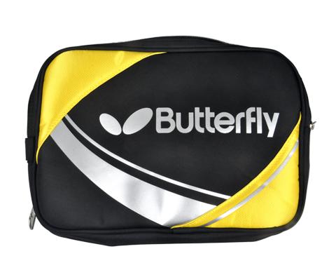蝴蝶Butterfly TBC-956-0211黄色款双层乒乓拍套