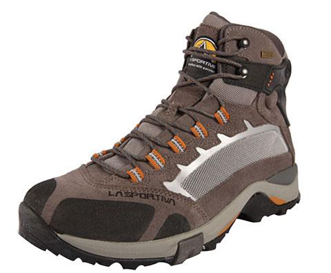 LA SPORTIVA LA343男款户外中帮登山鞋徒步鞋 棕色
