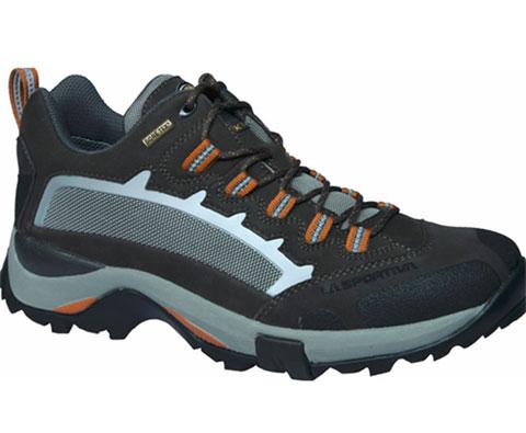 LA SPORTIVA LA345 男女款GTX中帮徒步鞋登山鞋 灰/橙