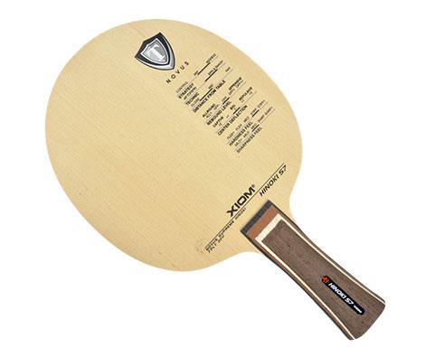 骄猛XIOM桧煞HINOKI S7 乒乓球底板,7层纯木橧桧