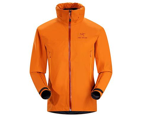 ARC′TERYX 始祖鸟 12703 Zeta AR男款GORE TEX轻量单层冲锋衣 铜橙色