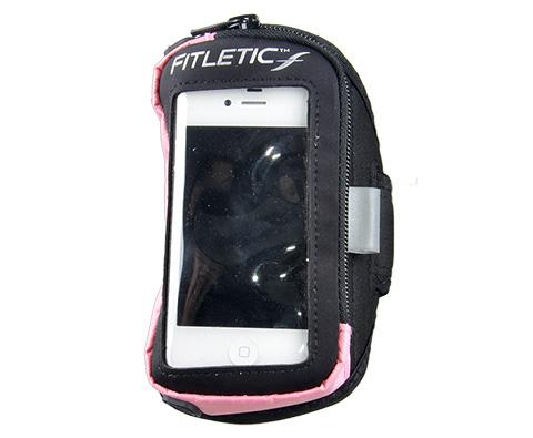 FITLETIC ARM BANDS 手机臂包 黑粉色