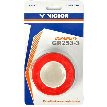 VICTOR胜利GR253-3网孔型外握手胶(多色可选,吸汗防滑更耐久!)