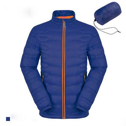 ML-Mountain M1509 女士轻薄款羽绒服 深蓝色防寒防风户外休闲羽绒服