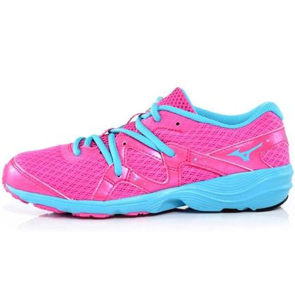 MIZUNO美津浓PrimaBeat女款跑步鞋(J1GH152832,轻量慢跑,安定舒适)-