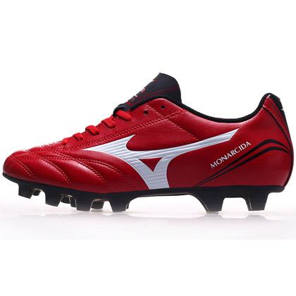 美津浓(P1GA152362)Mizuno MONARCIDA FS AG/MD圆胶钉足球鞋 红色火焰
