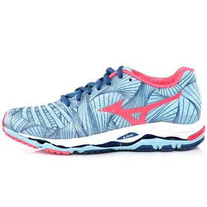 美津浓女款跑步鞋(J1GD144063,MIZUNO Wave Paradox支撑型专业跑鞋)