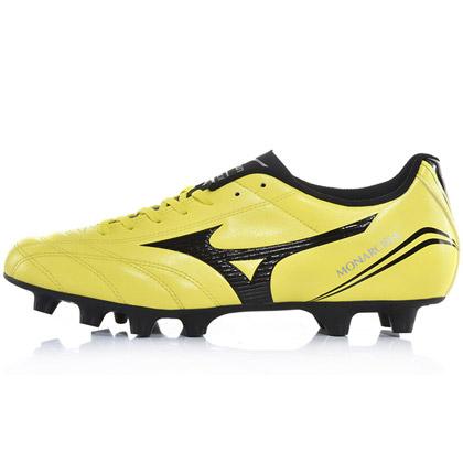 美津浓(P1GA152394)Mizuno MONARCIDA FS AG/MD圆胶钉足球鞋 黄色闪电