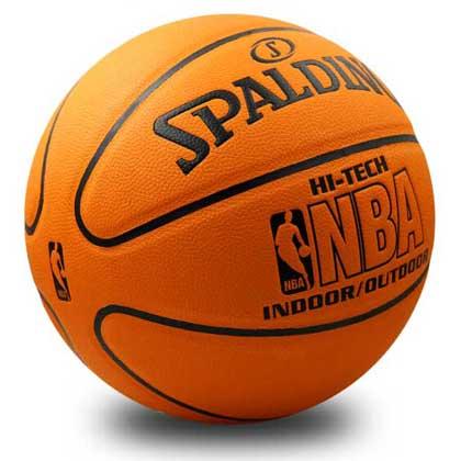 斯伯丁NBA 2片式高端比赛用球 Spalding篮球 74-600Y 超级经典超级手感