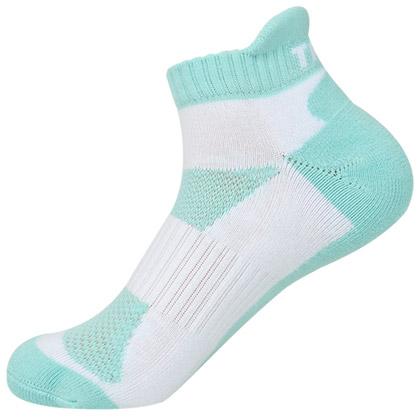 泰昂T-101女款羽毛球袜子(透气排湿,吸汗抗菌!)