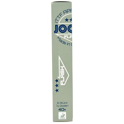 优拉JOOLA 40+无缝新材料三星乒乓球(6只装) 新材料40+ 无缝大球 国际赛事专用
